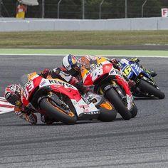 Marquez, Pedrosa, Rossi