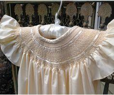 Smocked Easter Dress Smocked Bishop Dress by SmockStar on Etsy