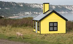 Richard Woods' 'Holiday Home' in this year's Folkestone Triennial