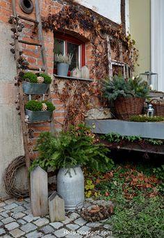 Hier wird bewiesen, dass der Garten auch im späten Herbst noch toll aussehen kann!