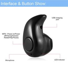 Headphones MINI Wireless Stereo in Ear Headset Earphone Universal Bluetooth for sale online Smartwatch, Apple Technology, Ergonomic Mouse, Tech Accessories, Headset, Bluetooth, Smartphone, Headphones, Mini