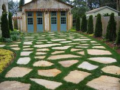 driveways with grass - Google Search