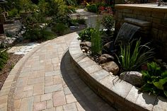 Concrete Paving Stones have advantages when used for walkways, driveways and patios in Michgan