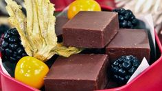 Vietnamese Coffee Fudge - Steven and Chris Homemade Food Gifts, Diy Food Gifts, Chocolate Espresso, Chocolate Fudge, Christmas Baking, Christmas Goodies, Christmas Ideas, Xmas, Square Cakes