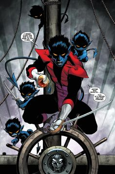 Get Ready For Nightcrawler To Become Your New 'X-Men' Movie Crush - He's swashbuckling, free spirited, and romantic.