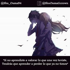 #Shigatsu_wa_kimi_no_uso_kaori: Si no aprendiste a valorar lo que una vez tuviste #Anime #Frases_anime #frases