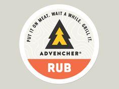 Advencher® Rub Sticker