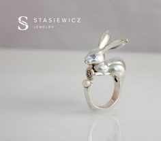 """New project @Behance: """"The Rabbit Ring"""" https://www.behance.net/gallery/47577171/The-Rabbit-Ring"""
