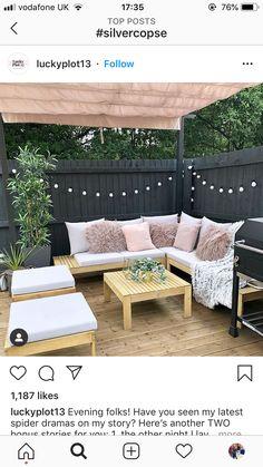 Outdoor Sofa, Outdoor Furniture, Outdoor Decor, Garden Design, Home Decor, Decoration Home, Room Decor, Landscape Designs, Home Interior Design