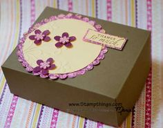 Gift boxes made from 8.5x11 cardstock