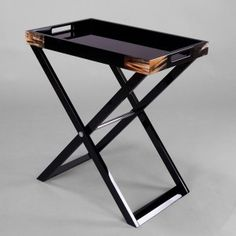 Beau Premium Serving Tray | Butleru0027s Tray Table | Standing Serving Tray