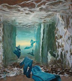 SEA LULLABY - 2015 Oil on canvas 90cm/80cm