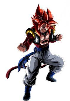 Dragon Ball Z, Gogeta Super Saiyan 4, Chloe Bruce, Evil Goku, Gogeta And Vegito, Epic Characters, Goku Super, Awesome Anime, Perspective
