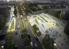 Gallery - Winners Announced in Competition to Design Cultural Square in Seoul - 13