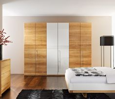 Clean and modern wardrobe