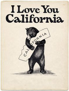 Besotted Brand Blog: I LOVE YOU CALIFORNIA