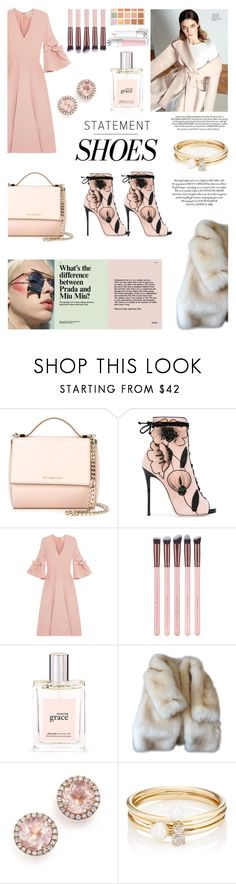 """relax in the city"" by teleplath ❤ liked on Polyvore featuring Givenchy, Giuseppe Zanotti, Roksanda, philosophy, Dana Rebecca Designs, Rocio, Loren Stewart and Sephora Collection"