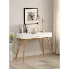 Shop for Carson Carrington Odda Wood 1-drawer Desk. Get free shipping at Overstock.com - Your Online Furniture Outlet Store! Get 5% in rewards with Club O! - 18807506