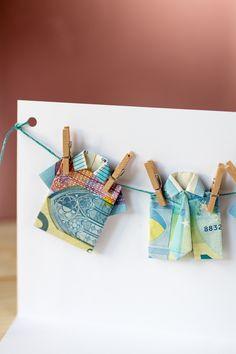 DIY Geschenkidee: Geldgeschenk für Männer - Hemd aus Geldschein falten