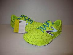 New Balance Mens Minimus Neutral 10V2 Running Shoes MR10YB2 Yellow/Blue sz 10.5