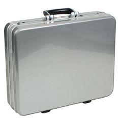 bwh #Koffer Unique Case Typ 1 bei Koffermarkt: ✓hochwertiger Aktenkoffer  ✓Farbe: silbergrau  ✓aus ABS ✓Made in Germany