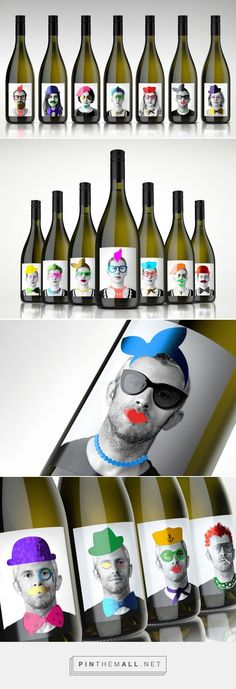 Standout Project ‪wine‬ ‪packaging‬ ‎design‬ by Label & Litho & The Creative Method (‪Australia‬) - http://www.packagingoftheworld.com/2016/04/standout-project-with-label-litho.html
