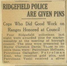 - Ridgefield Police are Given Pins Scrapbooks, Police, Lost, Scrapbooking, Scrapbook