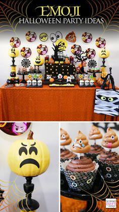 Soiree Event Design | Emoji Halloween Party Ideas | http://soiree-eventdesign.com