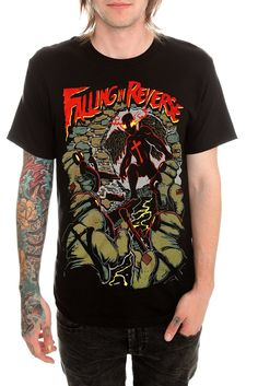Falling In Reverse t-shirt from HotTopic
