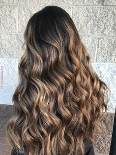 Balayage Hair Color Ideas for Brunettes in - Beauty Tips Bronde Hair, Brown Hair Balayage, Hair Color Balayage, Hair Highlights, Ombre Hair, Balayage Brunette Long, Honey Blonde Hair, Brunette Hair, Blonde Ends