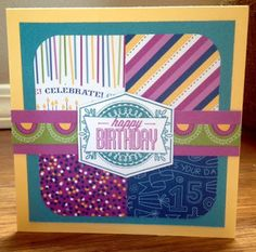 Paper Goodness: Creating from the Heart: August Stamp of the Month Blog Hop is here!