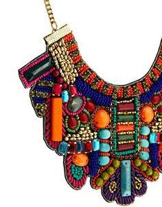 Bild 4 von ASOS – Rio – Halskette mit Latzdesign