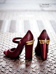LOVE!!!!!!! Tory Burch Mary Janes, $435 #holtsmag