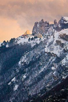 Ai-Petri mountain peak, Crimea, Ukraine
