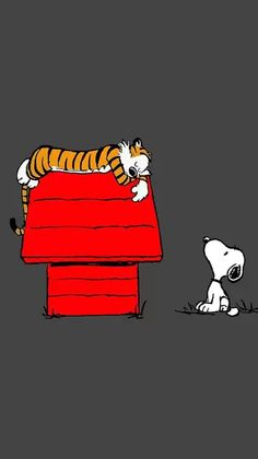 I LOVED Calvin & Hobbs!..wish it was still published!..but, I do have some of the books....THIS is GREAT!....cuz I LOVE Snoopy, too!....