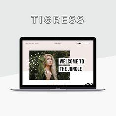 Tigress Squarespace