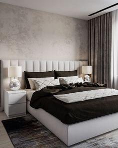 Beautiful bedrooms 34 best bedroom ideas to choose 8 Upholstered Wall Panels, Beautiful Bedrooms, Interior Design, Bedroom Interior, Upholstered Walls, Room Design, Home Decor, Luxurious Bedrooms, Home Bedroom