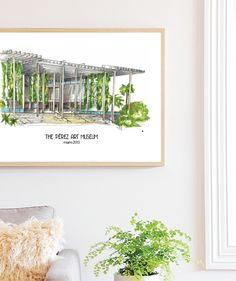 Perez Art Museum Illustration, places to visit in Miami, top 10 great gift ideas