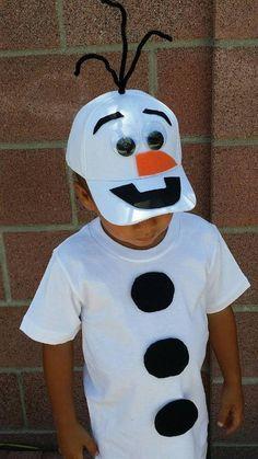 Schneemann Kostüm selber machen   Kostüm Idee zu Weihnachten, Karneval, Halloween & Fasching