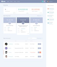 Tackkle Dashboard - Freelancing Tool(WIP) by Balkan Brothers