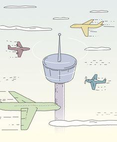 Illustration for Flight Control Slovenia Slovenia, Illustration, Design, Illustrations