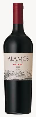 Alamos Malbec - Argentinian wine - SO GOOD! (my boyfriends family is Argentinian & they recommend this wine -  trust me it's DELICIOUS!)