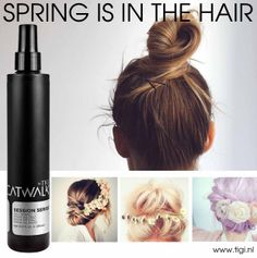 Spring is in the Hair