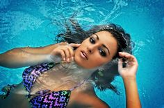 Water shoot/model Fallon Rivers