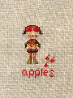 farm folks x-stitchettes