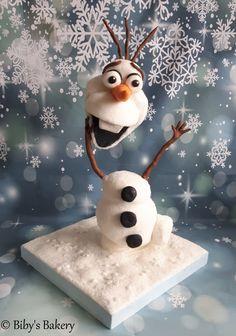 #olaf #bibysbakery #3dcake #pirikos #cake #cakedecorating #cakes #frozen olafcake #frozencake