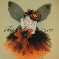 Gothic Fairy Tutu Set Black Orange: http://tutuheaven.com/category_156/Gothic-Girl-Fairies.htm