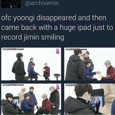 Was it his own iPad? OvO 'Coz if it was, I'M FREAKING REJOICING FOR YOONMIN ALWAYS LIVES!! TTuTT