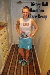 Disney Half Marathon Race Recap
