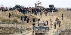 مدونة العراق - عاجل : الجيش العراقي و الحشد الشعبي  يحرران منطقة البواري شمال غرب تلعفر